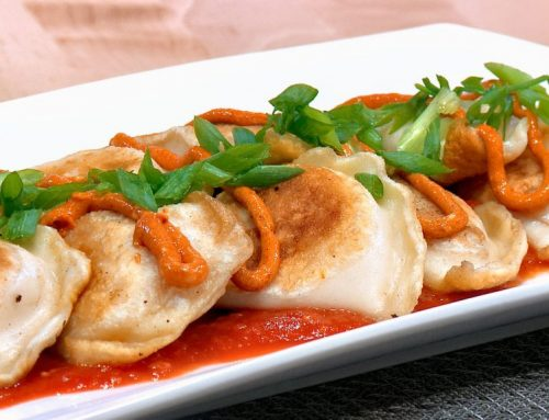 NEW: Patatas Bravas Pierogies Recipe