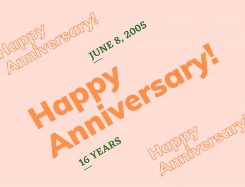 Happy Sweet Sixteen Anniversary to Us!